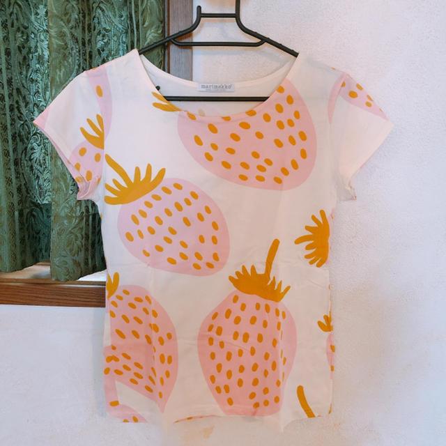marimekko(マリメッコ)のマンシッカ Tシャツ レディースのトップス(Tシャツ(半袖/袖なし))の商品写真