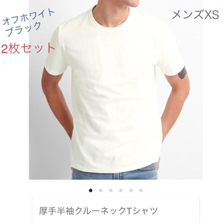 GAP - GAP 厚手 クルーネックTシャツ