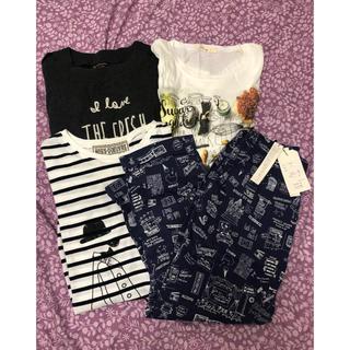 リベットアンドサージ(rivet & surge)のリベットアンドサージ Tシャツ、七分丈パンツセット(Tシャツ(半袖/袖なし))