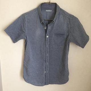 ジーユー(GU)のGU  半袖シャツ  150(Tシャツ/カットソー)