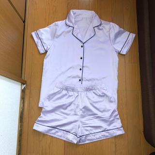 ジーユー(GU)のGU * サテン素材パジャマS(パジャマ)