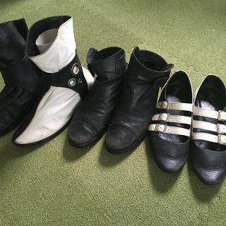 アンビリカル(UNBILICAL)の3足セット アンビリカル 東京ボッパー BERRYBUTTON ブーツ(ブーツ)