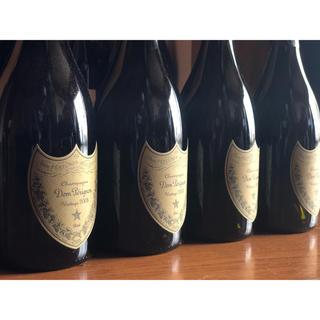 ドンペリニヨン(Dom Pérignon)のドンペリニヨン  2008 白 4本 箱無し(シャンパン/スパークリングワイン)
