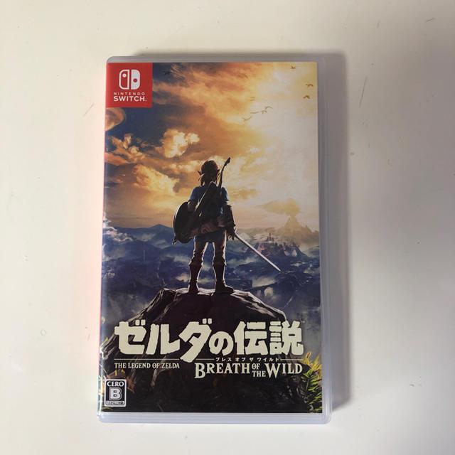 Nintendo Switch(ニンテンドースイッチ)のNintendo Switch ゼルダの伝説 エンタメ/ホビーのテレビゲーム(家庭用ゲームソフト)の商品写真