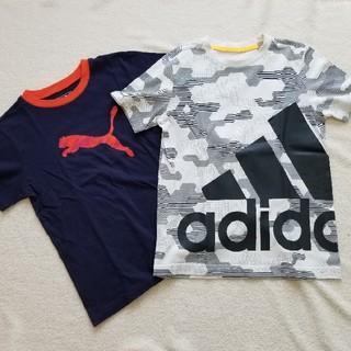 アディダス(adidas)のPUMA & adidas 150cm 半袖 まとめて(Tシャツ/カットソー)