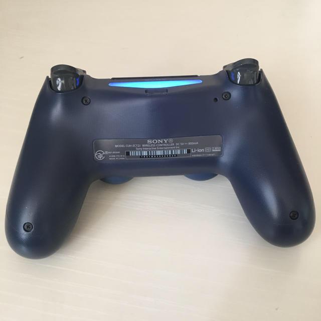 PlayStation4(プレイステーション4)のPS4 ワイヤレスコントローラー DUALSHOCK4 ほぼ新品 エンタメ/ホビーのテレビゲーム(その他)の商品写真