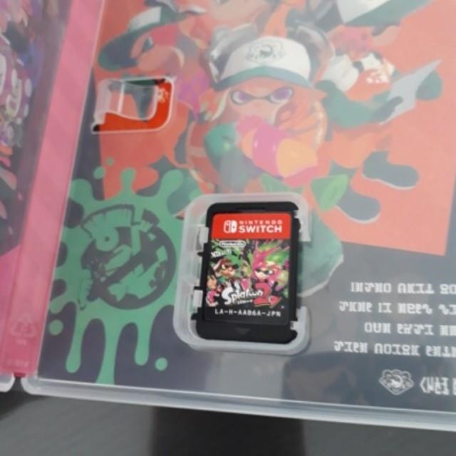 スプラトゥーン カセット エンタメ/ホビーのテレビゲーム(家庭用ゲームソフト)の商品写真