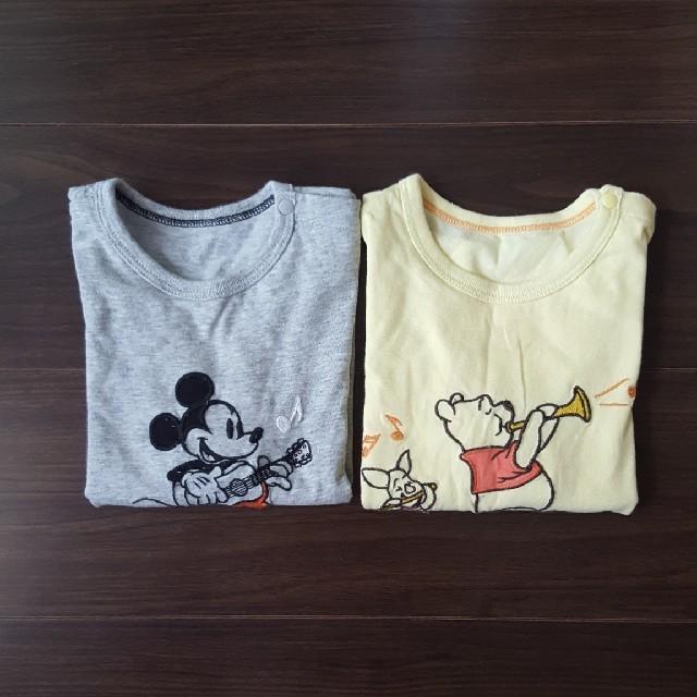 UNIQLO(ユニクロ)のユニクロ ディズニー ロンT 90センチ キッズ/ベビー/マタニティのキッズ服 男の子用(90cm~)(Tシャツ/カットソー)の商品写真