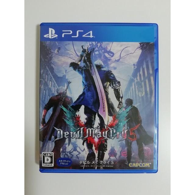 PlayStation4(プレイステーション4)のデビルメイクライ5 エンタメ/ホビーのテレビゲーム(家庭用ゲームソフト)の商品写真