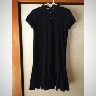 ラルフローレン(Ralph Lauren)のラルフローレン   ワンピース 160センチ 黒(ワンピース)