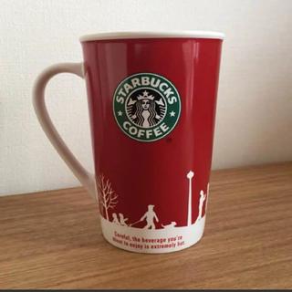 スターバックスコーヒー(Starbucks Coffee)の旧ロゴ スターバックス 2006年 冬季限定クリスマス ホリデー マグ(その他)