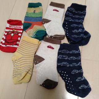 ユニクロ(UNIQLO)のベビー靴下セット 9-12センチ(靴下/タイツ)