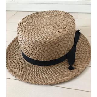 ビームスボーイ(BEAMS BOY)のbeamsboy カンカン帽 cableami(麦わら帽子/ストローハット)