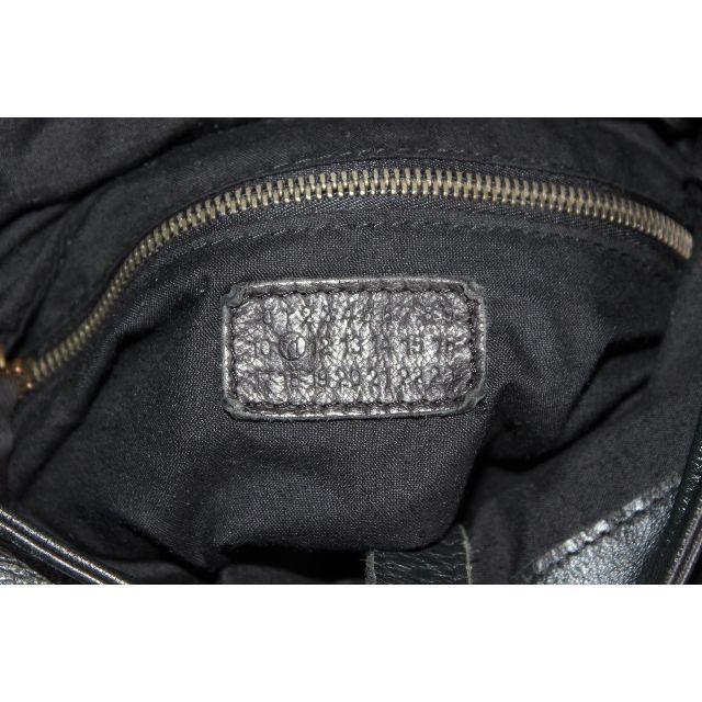 Maison Martin Margiela(マルタンマルジェラ)のメゾンマルジェラ 11 本革レザーショルダーバッグ 黒 ブラック メンズ メンズのバッグ(ショルダーバッグ)の商品写真