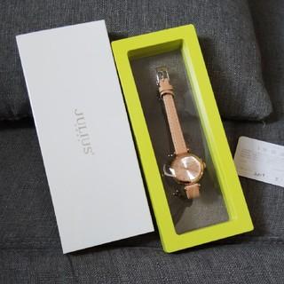 ユリウス(JULIUS)の新品未使用品☆JULIUSレディース腕時計 シンプル大人(腕時計)