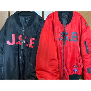 三代目 J Soul Brothers - JSBブランド MA_1スタジャン