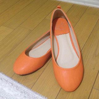 ネオンカラーオレンジパンプス♪(ハイヒール/パンプス)