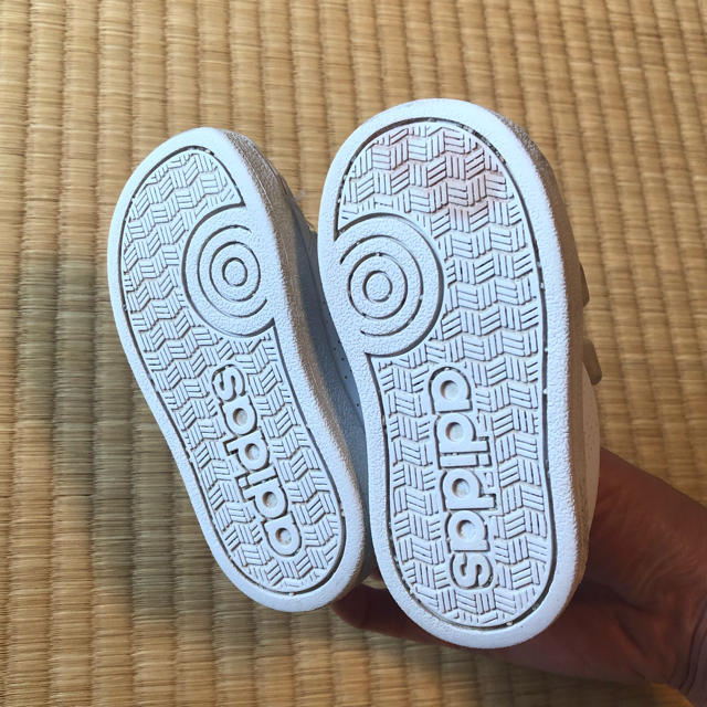 adidas(アディダス)の☆adidas アディダス ネオ スニーカー☆ キッズ/ベビー/マタニティのベビー靴/シューズ(~14cm)(スニーカー)の商品写真