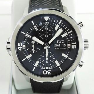 インターナショナルウォッチカンパニー(IWC)の超美品 IWC アクアタイマー クロノグラフ IW376803 時計 メンズ  (腕時計(アナログ))