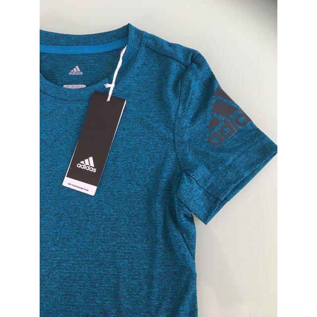 adidas(アディダス)の新品☆アディダス☆機能性Tシャツ☆120cm キッズ/ベビー/マタニティのキッズ服 男の子用(90cm~)(Tシャツ/カットソー)の商品写真