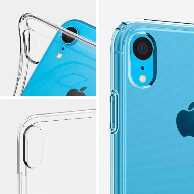 Spigen(シュピゲン)のアメリカブランド iPhoneXR ケース リキッド・クリスタル スマホ/家電/カメラのスマホアクセサリー(iPhoneケース)の商品写真