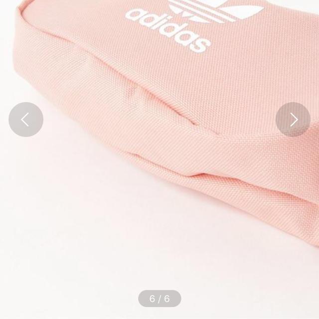 adidas(アディダス)のadidasウエストポーチ メンズのバッグ(ウエストポーチ)の商品写真