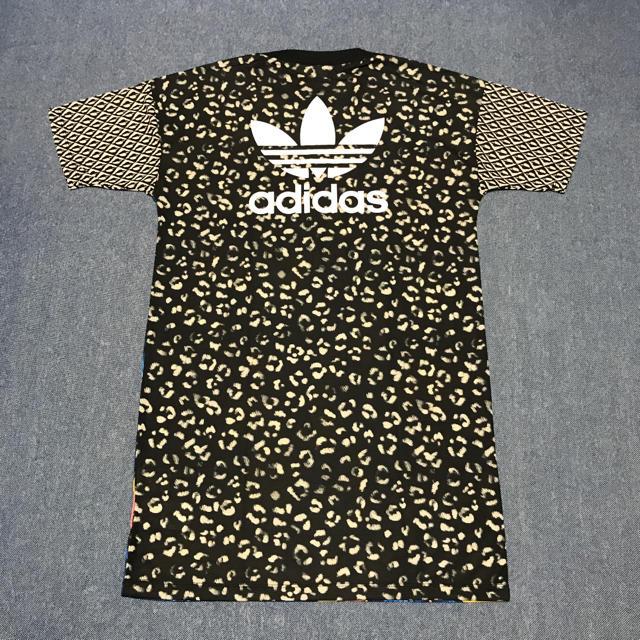 adidas(アディダス)の☆新品☆adidasオリジナルス FARM Tシャツワンピース Lサイズ レディースのワンピース(ミニワンピース)の商品写真