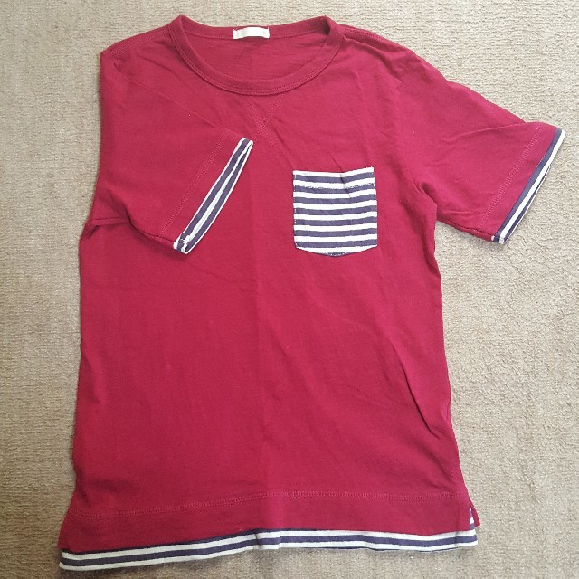 GU(ジーユー)のGU 140 Tシャツ  キッズ/ベビー/マタニティのキッズ服 男の子用(90cm~)(Tシャツ/カットソー)の商品写真