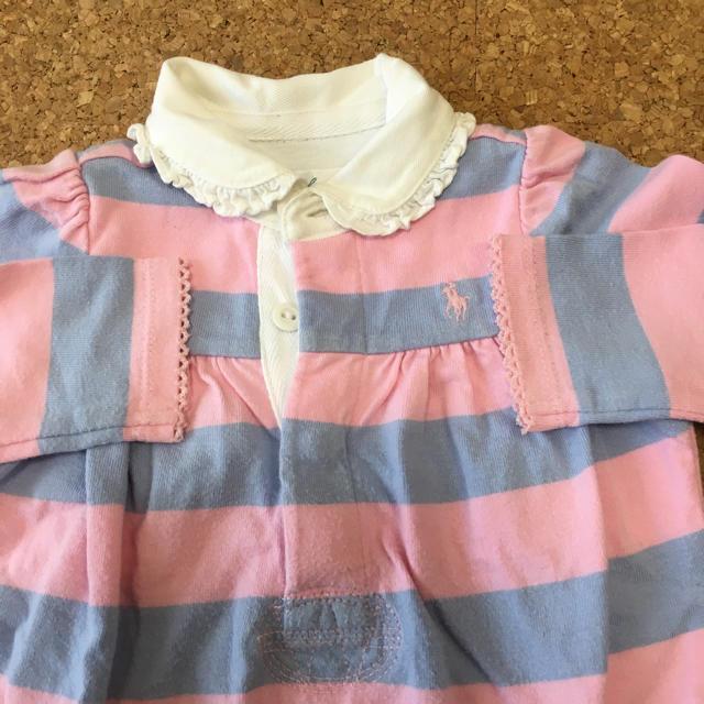 Ralph Lauren(ラルフローレン)のラルフローレン ロンパース カバーオール  60〜70 キッズ/ベビー/マタニティのベビー服(~85cm)(カバーオール)の商品写真