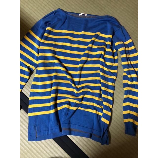 GU(ジーユー)のボーダー♡春ニット レディースのトップス(ニット/セーター)の商品写真