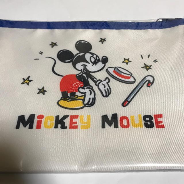 Disney(ディズニー)の非売品 JCB ミッキーマウス クリアポーチ エンタメ/ホビーのおもちゃ/ぬいぐるみ(キャラクターグッズ)の商品写真