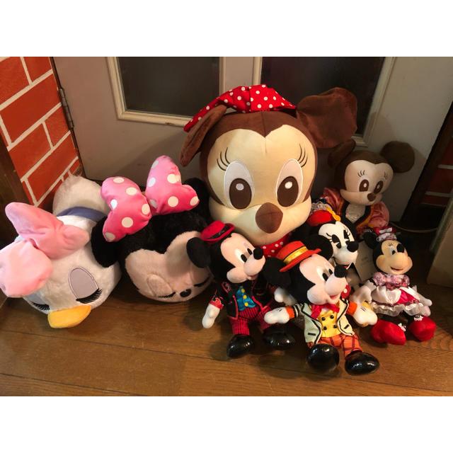 ディズニーぬいぐるみまとめ売り エンタメ/ホビーのおもちゃ/ぬいぐるみ(ぬいぐるみ)の商品写真