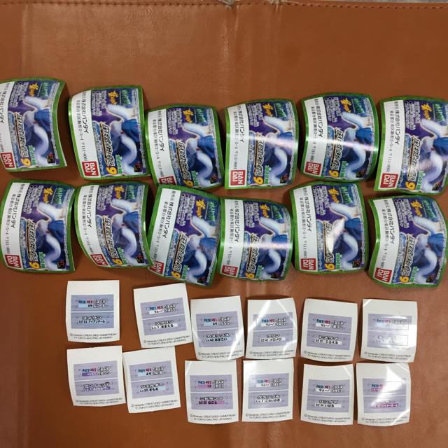 BANDAI(バンダイ)のガシャポン  ポケモンミュージアム 9 全12種セット エンタメ/ホビーのおもちゃ/ぬいぐるみ(キャラクターグッズ)の商品写真