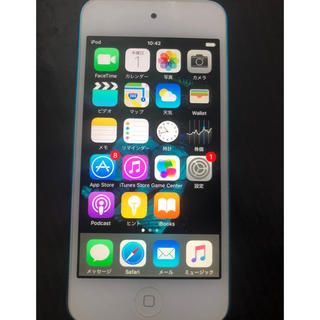 iPod touch - 【中古】iPodtouch   第5世代   ブルー  32GB