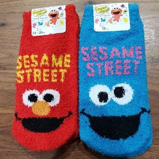 セサミストリート(SESAME STREET)の藍さま専用 セサミストリート もこもこソックス4足(ソックス)