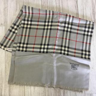 Burberry バーバリー ストール スカーフ 絹100