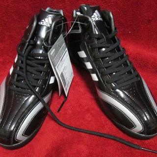 アディダス(adidas)の新品☆アディダス スパイク  T3 MID POINT  AQ8358 25(シューズ)