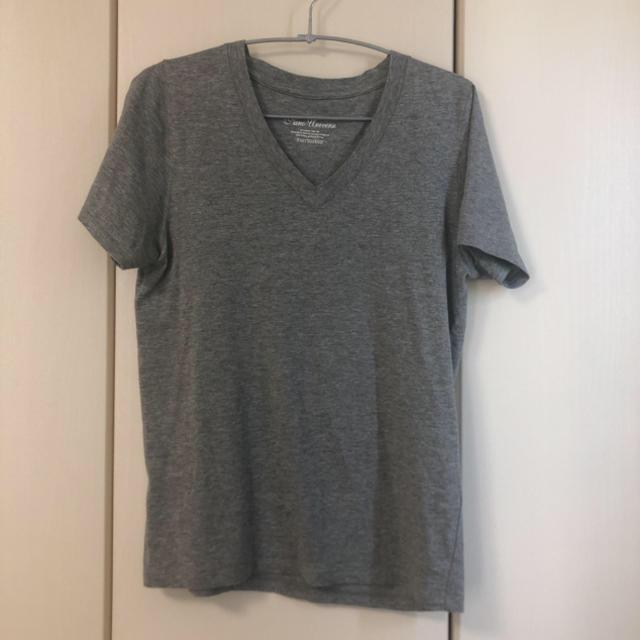 nano・universe(ナノユニバース)のnano・universe Anti Soaked(R) Vネック Tシャツ レディースのトップス(Tシャツ(半袖/袖なし))の商品写真