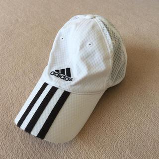 アディダス(adidas)の⭐️アディダス 白 キャップ ⭐️adidas 子供(帽子)