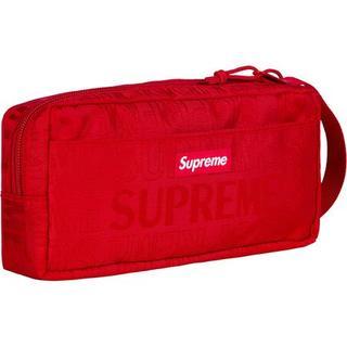 シュプリーム(Supreme)のSS19 Supreme Organizer Pouch Red(セカンドバッグ/クラッチバッグ)