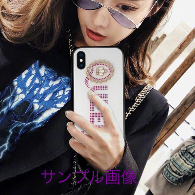 アイフォンXR iPhoneXRケース☆ラインストーン☆送料無料の通販 by ロゴ's shop|ラクマ
