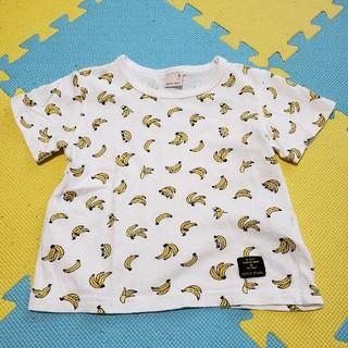 プティマイン(petit main)のプティマイン バナナTシャツ 使用感あり(Tシャツ/カットソー)