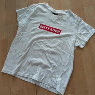 シマムラ(しまむら)のしまむら ベティちゃんロゴ Tシャツ(Tシャツ(半袖/袖なし))