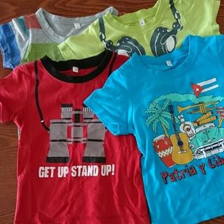 シマムラ(しまむら)のTシャツ 90-100 4枚セット(Tシャツ/カットソー)
