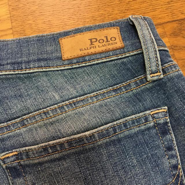 POLO RALPH LAUREN(ポロラルフローレン)のラルフローレン  スキニーデニム24 レディースのパンツ(デニム/ジーンズ)の商品写真