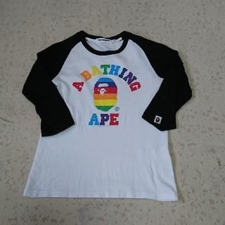 アベイシングエイプ(A BATHING APE)の値下げ エイプレディース(Tシャツ(半袖/袖なし))