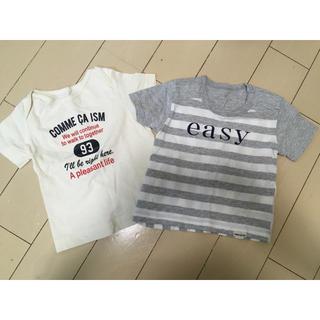 コムサイズム(COMME CA ISM)のコムサイズム 80 Tシャツ 2枚(Tシャツ)