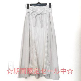 ティアンエクート(TIENS ecoute)のおしゃれストライプスカート(ひざ丈スカート)