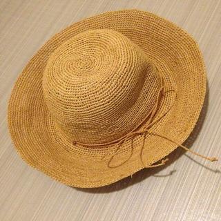 ムジルシリョウヒン(MUJI (無印良品))の麦わら帽子(麦わら帽子/ストローハット)