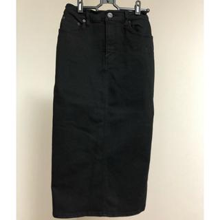ジーナシス(JEANASIS)のストレッチデニムミディタイトスカート※ 後日写真及び価格を変更致します。(ひざ丈スカート)